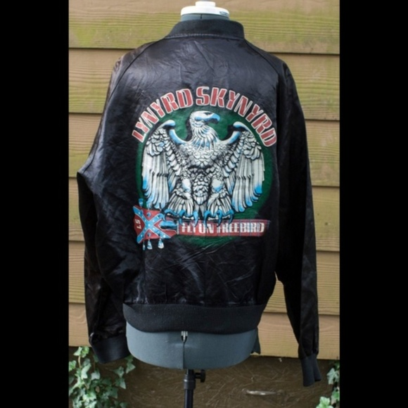 Lynyrd Skynyrd Satin Tour Jacket Freebird